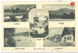 Al?????????? Látkép Tájkép Tarac-részlet Utcarészlet  Feldpostkarte 1944 Zensuriert Und Ortsname Vernichtet - Guerra 1939-45