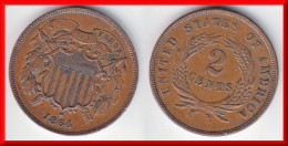 **** USA - UNITED-STATES - ETATS-UNIS  - TWO CENTS 1864 - 2 CENTS 1864 **** EN ACHAT IMMEDIAT !!! - Bondsuitgaven