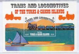 Hb-43  Turks & Caicos - Treni