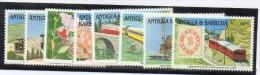 Serie Nº 1405/8 + 1317/ 20 Antigua & Barbuda - Trenes