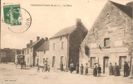 28 - TRANCRAINVILLE,  LA PLACE (MAISON CHAUVEAU - EDITEUR DE LA CPA) - France