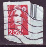 Francia, 1990/92 - 2,50 F Marianne, Self-Adhesive - Usato° - Frankreich