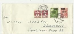 DK CV 1955 GESTEMPEL - Cartas