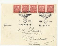TCH CV 1939  FRONT SIDE - Briefe U. Dokumente