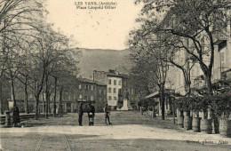 61.  LES VANS - Place Léopold Ollier - Les Vans