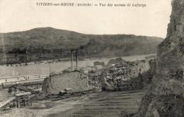 61.  VIVIERS Sur RHÖNE - Vue Des Usines De Lafarge - Viviers