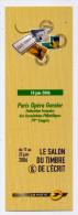 Marque-pages--2006--Salon Du Timbre & De L´écrit--Paris Opéra Garnier 79° Congrès-- - Bookmarks