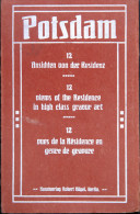 """*Allemagne - POTSDAM - CPA - """"12 Vues De La Résidence En Genre De Gravure"""" - Potsdam"""