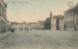Lierre - Place De La Gare - 1914 - Lier