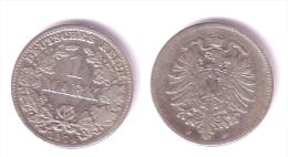 Germany 1 Mark 1874 C - [ 2] 1871-1918: Deutsches Kaiserreich