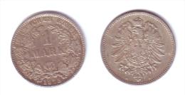 Germany 1 Mark 1875 H - [ 2] 1871-1918: Deutsches Kaiserreich