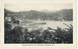St Georges Grenada Inner Harbour BWI - Grenada