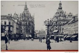Anvers L´entrée De La Rue Leys Ingang Der Leysstraat - Antwerpen
