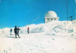 SOMMET DE LA DÔLE Alt. 1680 M. - Le Radar, Arrivée Du Monte-Pente Des Dappes, Animation Avec Skieurs - Circulée 1971 - Francia