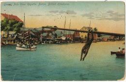 British Honduras Greasy Pole River Regatta P. Used Stamp 1923 Edit Beattie 2995 - Belize