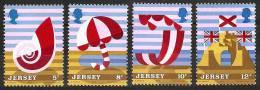 JERSEY 1975 - Tourism: Scenery Beach And Sea 4v - Mi 119-22 MNH ** Neuf Cv€1,20 D224 - Jersey