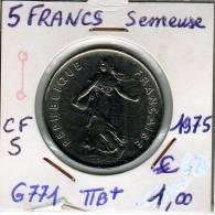 5 Francs Semeuse - France