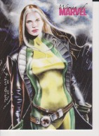 P1 Promo Card 2007 For WOMEN OF MARVEL  Animated Movie Cards By Inkworks - Marvel