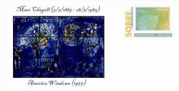 Spain 2013 - Marc Chagall (1887-1985) Collection - Special Prepaid Cover - Art