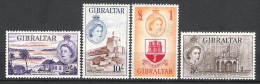Gibraltar 1953 Definitives MNH CV £166 (2 Scans) - Gibraltar