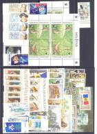 2001. Moldova, Complete Year Set, 34v + 3s/s + Sheetlet, In Folder, Mint/** - Moldova
