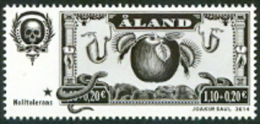 ALAND 2014 Zero Tollerans PF-MNH. - Aland