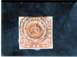 B - 1851 Danimarca - Regno Di Federico VII - Stemma - Usati