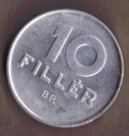 HUNGARY 10 FILLER 1987 - Hungría