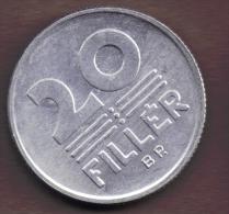 HUNGARY 20 FILLER 1989 - Hungría