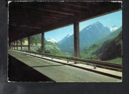 L1780 Route Et Tunnel Grand Saint Bernardau Fond, Le Barrage Des Toules - VS Valais