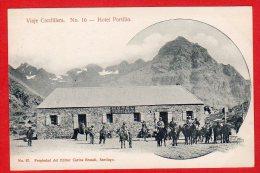 CPA: Chili - Hotel Portillo  (Viaje Cordillera N°16) - Chile