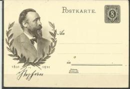 GERMANY - 1931 CENTENARY POSTCARD (Mint) - Germany