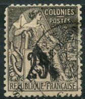 Saint Pierre Et Miquelon (1891) N 45 (o) (manque Une Dent) - Used Stamps