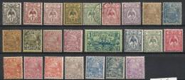 Nouvelle Calédonie. 1905-1922. Entre N° 88 Et 124. Oblit Et Neuf * MH - Nouvelle-Calédonie