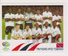 PANINI FIFA World Cup Germany 2006 Football Sticker Team TRINIDAD And TOBAGO - Edizione Italiana