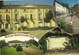 CPSM De CHARBONERES LES BAINS (69260) : 4 Vues - Charbonniere Les Bains