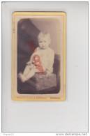 Au Plus Rapide Photo CDV XIX ème Siècle Photographe Mr Et Mme Blondelu Narbonne  Portrait Bébé - Personnes Anonymes