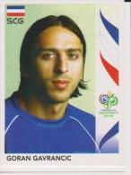 PANINI FIFA World Cup Germany 2006 Football Sticker GORAN GAVRANCIC Team SERBIA And MONTENEGRO - Panini