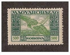 Ungheria - 1924 - Nuovo/new - Posta Aerea - Mi N. 384 - Nuevos