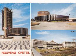 2 CARTES IDENTIQUES............CRE TEIL........HOTEL DE VILLE....MAISON DE LA CULTURE..UNIVERSITE - Creteil