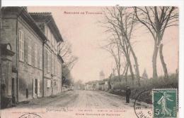 (RAMONVILLE) STE AGNE  128 BANLIEUE DE TOULOUSE AVENUE DE CASTANET  ROUTE NATIONALE DE NARBONNE  1910 - France