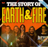 * LP *  THE STORY OF EARTH & FIRE (Holland 1976 EX-!!!) - Rock