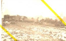 59 NORD RIEUX EN CAMBRESIS  Canton De CARNIERES  CHEMIN DE FER  CARTE PHOTO ALLEMANDE MILITARIA 1914/1918 - France