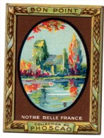 CHROMO, BON POINT, PHOSCAO...(EGLISE De CRIQUEBEUF, Calvados) - Chromos