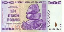 ZIMBABWE   10 Billions Dollars  Emission De 2008   Pick 85    ***** BILLET  NEUF ***** - Zimbabwe
