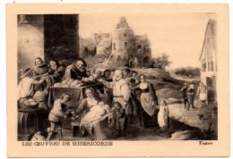 CHROMO, MUSCULOSINE BYLA, Jus De Viande Crue, Vitaminé, (LES OEUVRES DE MISERICORDE, Teniers) - Chromos