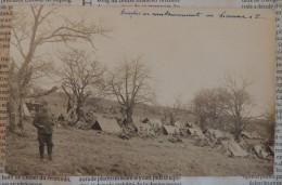 Troupes Au Cantonnement Au Bivouac De P...  -  1916 - Guerra 1914-18