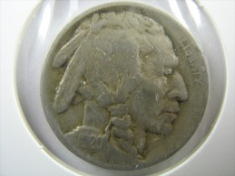 US USA 5 CENTS 1920 BUFFALO NICKEL  COIN LOT 6 - Émissions Fédérales