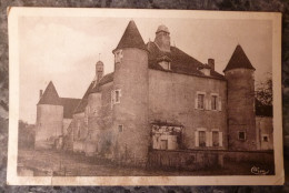 MENESTREAU (58).LE CHATEAU DE VILLIERS.CIRCULE 1940. - Autres Communes