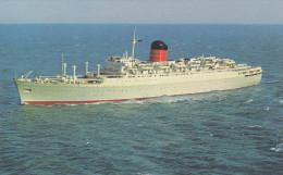 "Cunard Ocean Liner ""FRANCONIA"" , 22,637 Tons , 1960s - Piroscafi"
